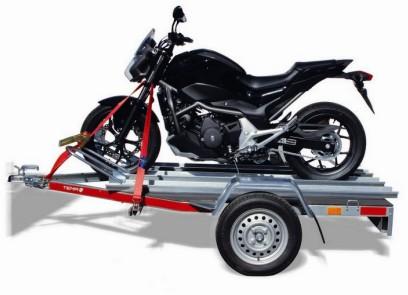 Przyczepy Świdnik TEMA moto z motorem