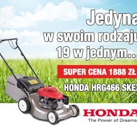 Lopeno Honda HRG466SKEX kosiarka spalinowa
