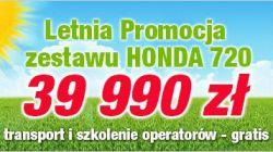 Promocja Zestaw Honda F720