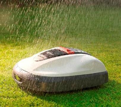 Kosiarka automatyczna Honda Miimo - możliwość pracy w deszczu